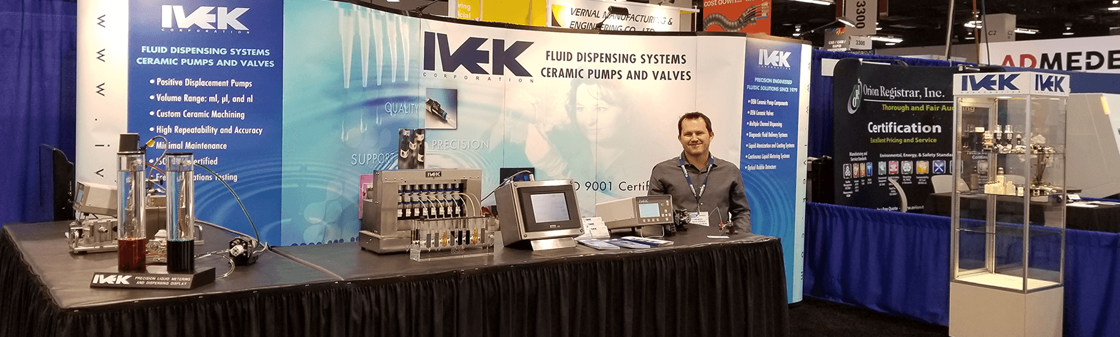 IVEK-trade-show-booth-attendance